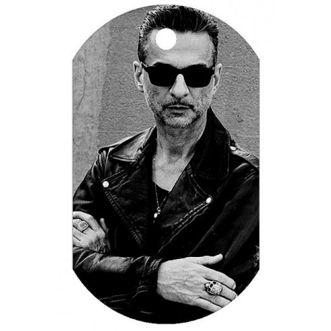 Collier plaque Dave Gahan 2017