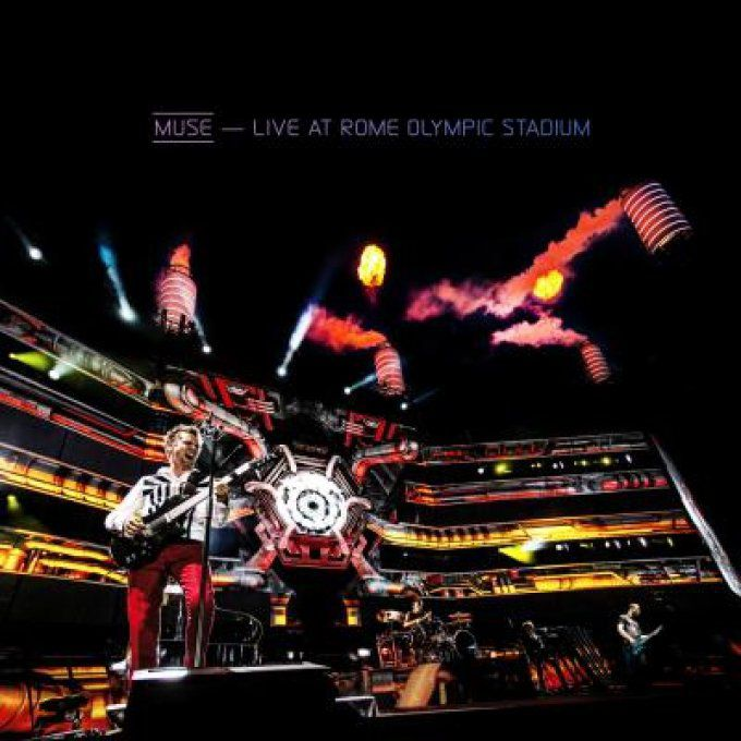 MUSE: Live at Rome Olympic Stadium CD + DVD