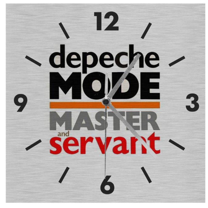 Horloge Depeche Mode: Master and servant