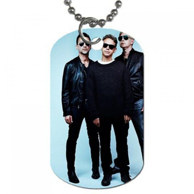 Depeche Mode: Collier plaque Delta Machine (1)