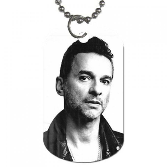 Collier plaque Dave Gahan 2013