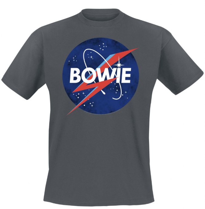 T-shirt David Bowie: To the moon