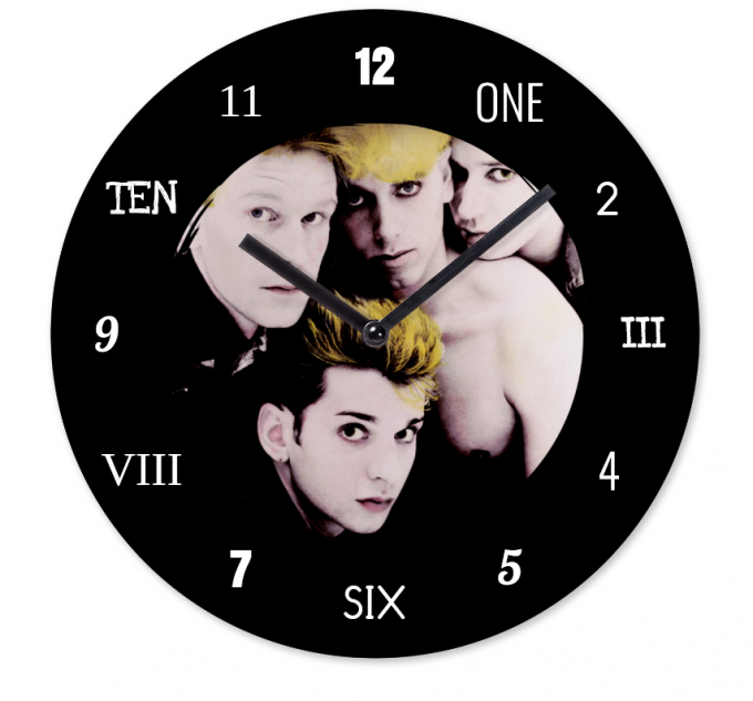 Horloge Depeche Mode:The Singles 81>85