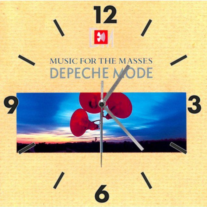 Horloge Depeche Mode: Music for the masses