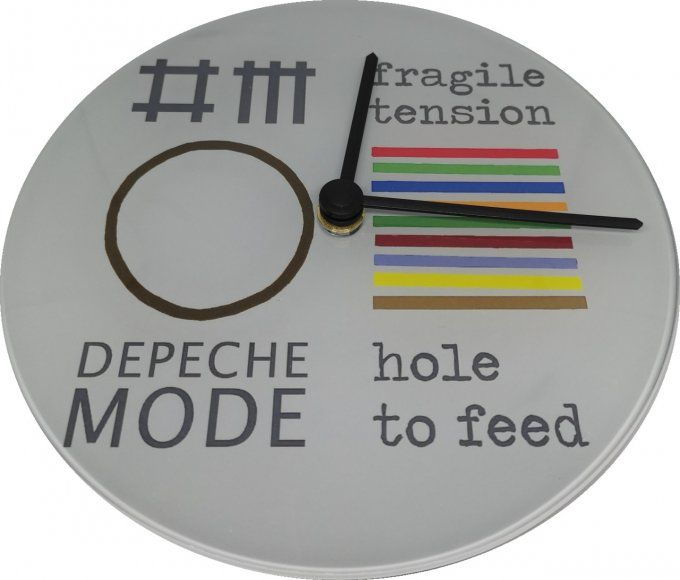 Horloge ronde Depeche Mode: Fragile tension