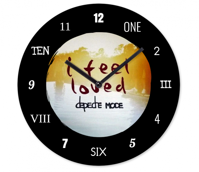 Horloge Depeche Mode: I feel loved