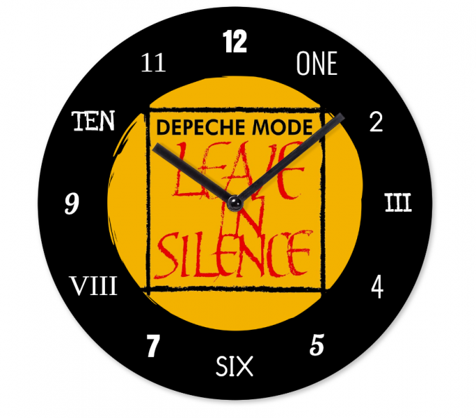 Horloge Depeche Mode: Leave in Silence
