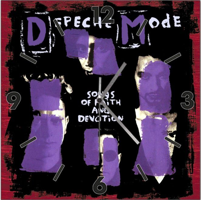 Horloge Depeche Mode: Songs of faith and devotion