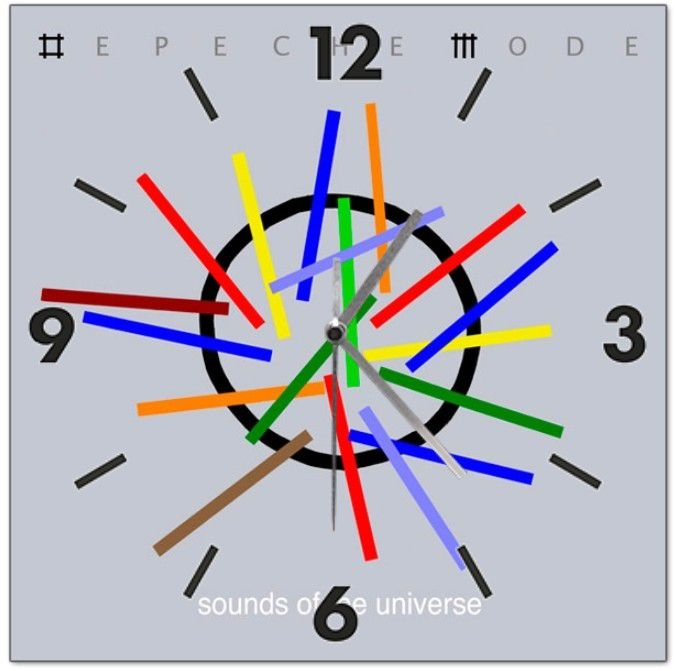 Horloge Depeche Mode: Sounds of the universe