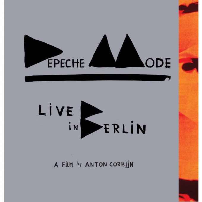 Depeche Mode > Live in Berlin: (2 CD + 1 DVD + 1 Blu-ray Audio)