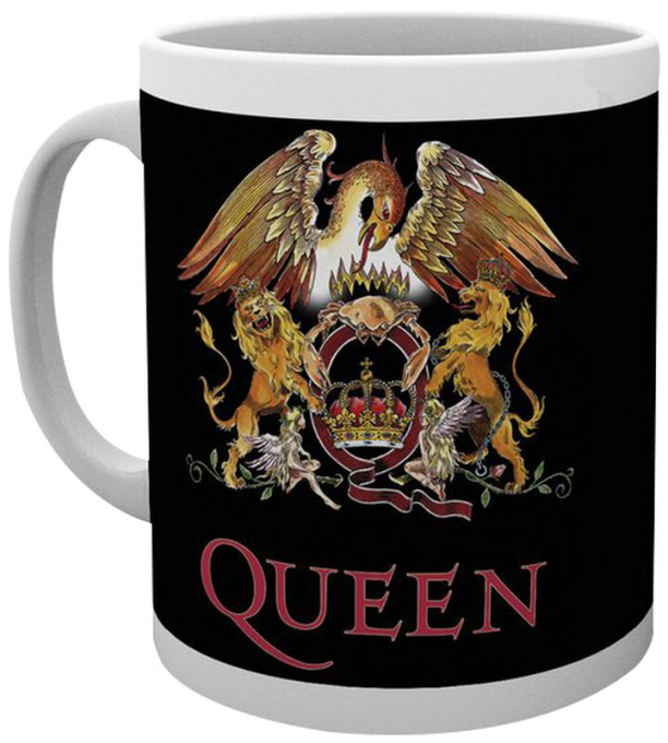 Queen: Tasse: blason coloré