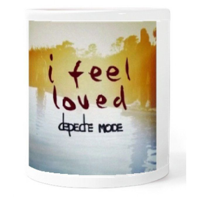 Depeche Mode Tasse: I feel loved