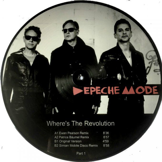 Where's the revolution Picture disc
