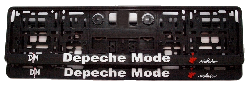 2 Supports Plaque Depeche Mode: Violator 3D