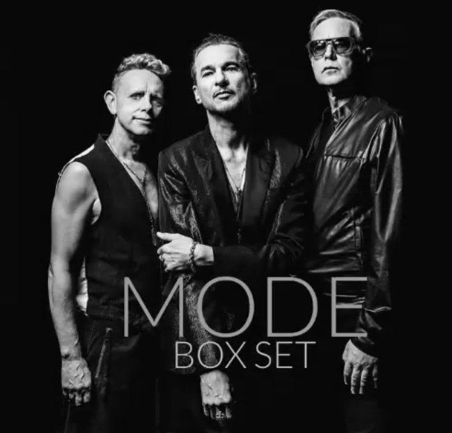"MODE Box - ""the definitive Depeche Mode studio collection"""