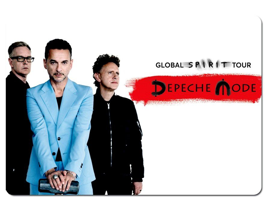Tapis de souris Depeche Mode: Global Spirit Tour
