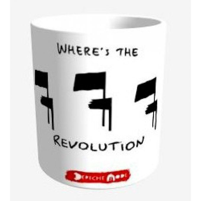 Depeche Mode: Tasse: Where's the revolution