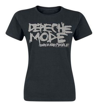 T-shirt Depeche Mode FEMME: People are people