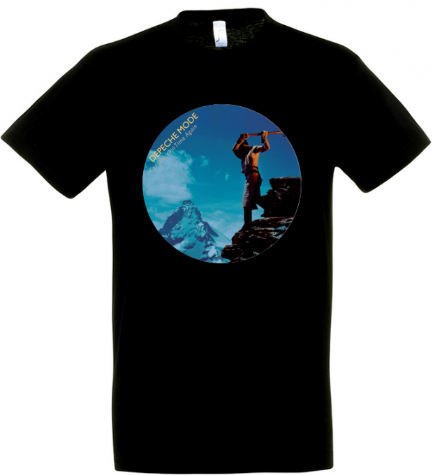 T-shirt Depeche Mode: Construction time again [The circle edition] Homme